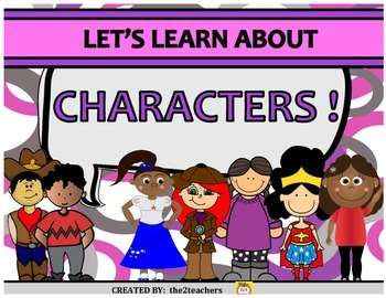 Characters - 20 activities to help deepen reading comprehension