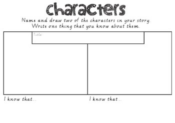 Characters - Reading