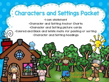 Characters and Settings Packet