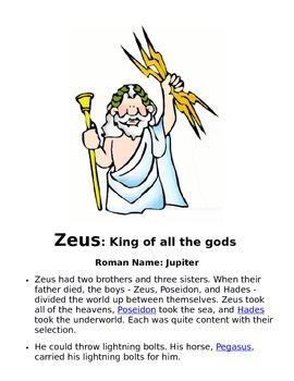 Characters of Mythology
