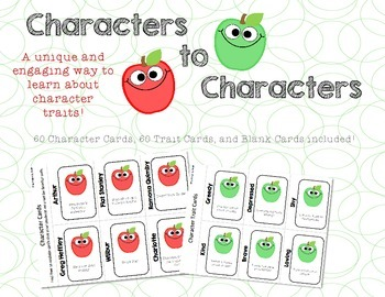 Characters to Characters - Traits Game