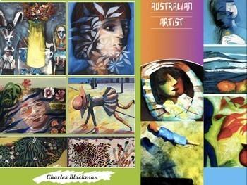 Charles Blackman ~ Australia Art ~ 183 Slides ~ Leading Ar