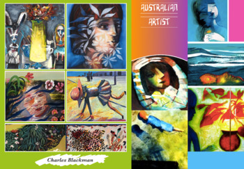 Charles Blackman ~ Australia Art ~ Leading Artist ~ FREE POSTER