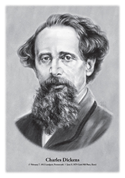 Charles Dickens - original illustration