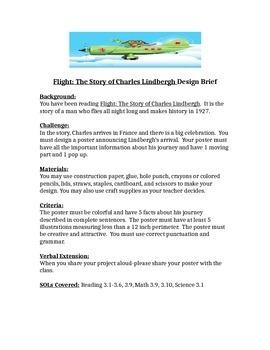 Charles Lindbergh STEM Children's Engineering Design Brief