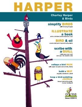 Charley Harper, birds and minimal realism