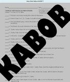 Charley Skedaddle novel quiz, Charley Skedaddle novel test