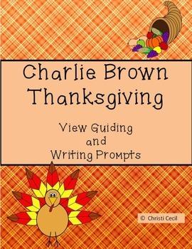 Charlie Brown Thanksgiving (5th-9th grade)