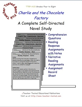 Charlie and the Chocolate Factory: A Complete Novel Study