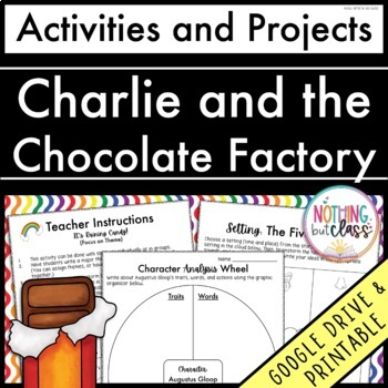 Charlie and the Chocolate Factory: Reading Response Activi
