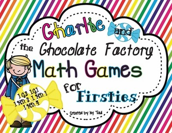 Charlie and the Chocolate Factory CCSS Math Games & Printa