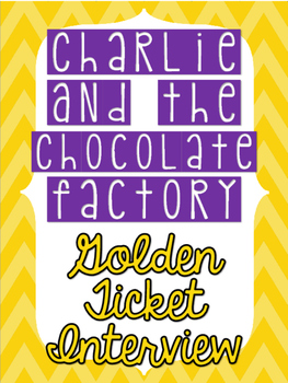 Charlie and the Chocolate Factory Golden Ticket Interview