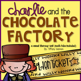 Charlie and the Chocolate Factory Literacy Unit {math tubs