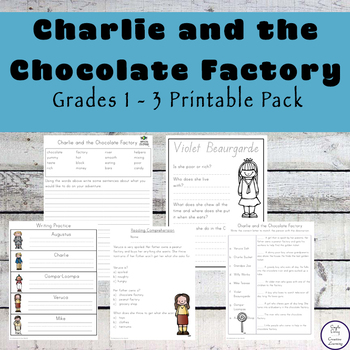 Charlie and the Chocolate Factory Mega Pack