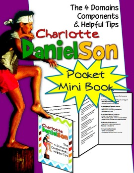 CHARLOTTE DANIELSON MINI POCKET FOLDABLE: 4 DOMAINS, COMPO