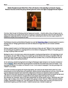 "Charlotte Perkins Gilman: Informational Text - ""Malala Acc"