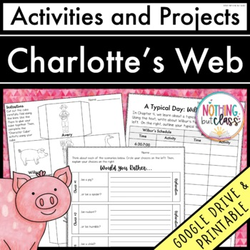 Charlotte's Web: Reading Response Activities and Projects