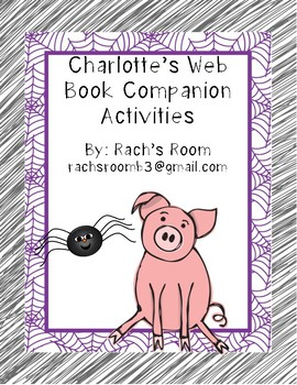 Charlotte's Web Book Companion Activities