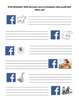Charlotte's Web Facebook Status