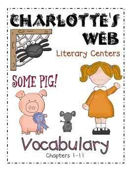 Charlotte's Web- Vocab Ch. 1-11