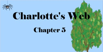 Charlotte's Web Chapter 5 Mimio & More