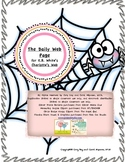 Charlotte's Web: Daily Web Page
