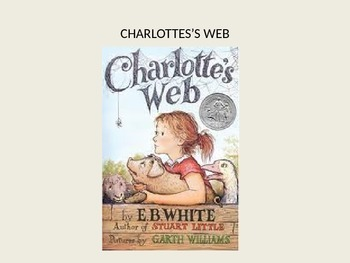 Charlottes Web EB White adapted power point - great adapte