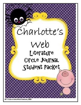 Charlotte's Web Literature Circle Journal Student Packet
