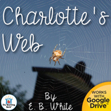 Charlotte's Web Novel Study Book Unit