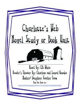 Charlotte's Web Unit or Novel Study: Chapter Questions, Qu