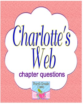 Charlotte's Web: chapter questions