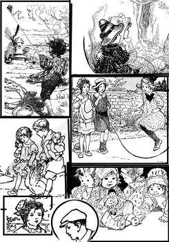 Charming Clip Art -- Children, family, friends, students,