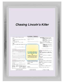 Chasing Lincoln's Killer Novel Unit