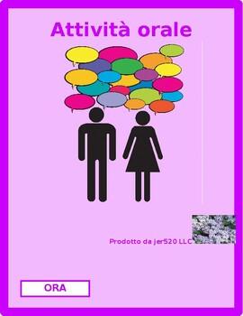 Che ora è (Time in Italian) Partner Speaking activity