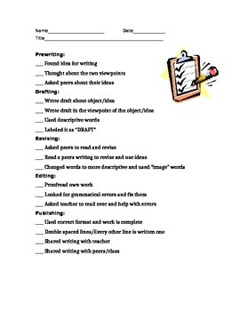 Check List Assessment