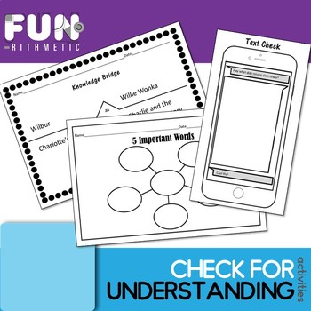 Check for Understanding: 15 Strategies for the Secondary C
