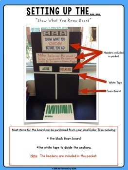 Check for Understanding with Exit Tickets Freebie