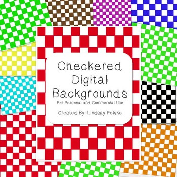 Checkered Digital Backgrounds