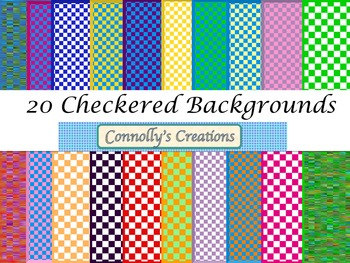 Checkered backgrounds