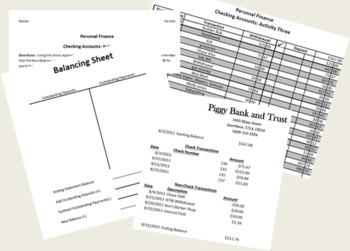 Checking Accounts Unit