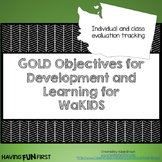Checklists for WaKids GOLD Objectives for Development and