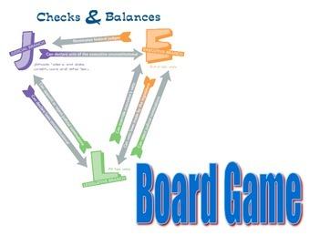 Checks and Balances Board Game