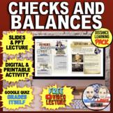 Checks and Balances Bundle