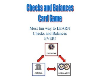 Checks and Balances Card Game