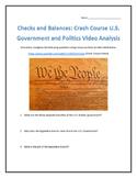Checks and Balances: Crash Course U.S. Government and Poli
