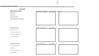 Checks and Balances Interactive