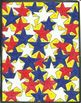 Patriotic Stars Copy By Number USA America Flag