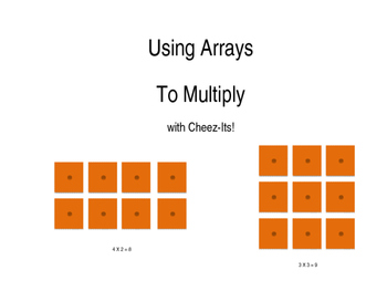 Cheez It Multiplication Arrays