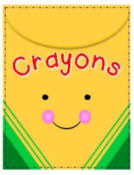 Cheerful Crayons Big Box