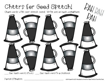 Cheers for Good Speech:  Open Ended Articulation